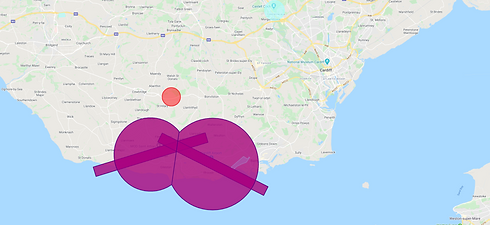 Cardiff drone survey airspace.png
