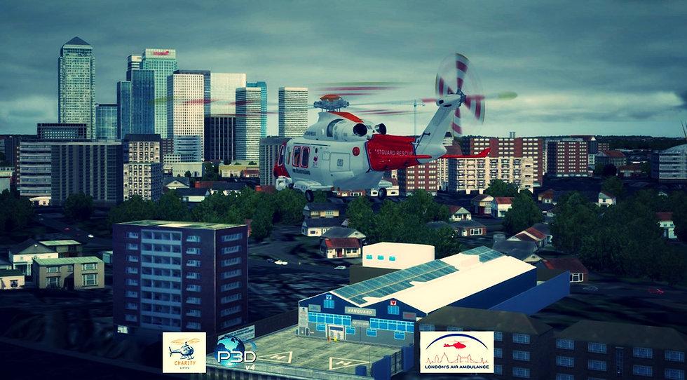 London Vanguard Helipad (P3D v4 Only)