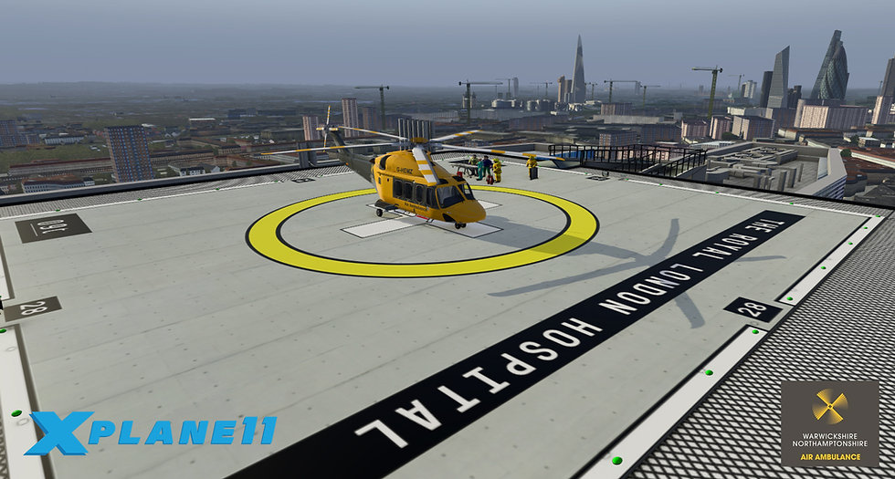 Royal London Hospital - XPlane 11