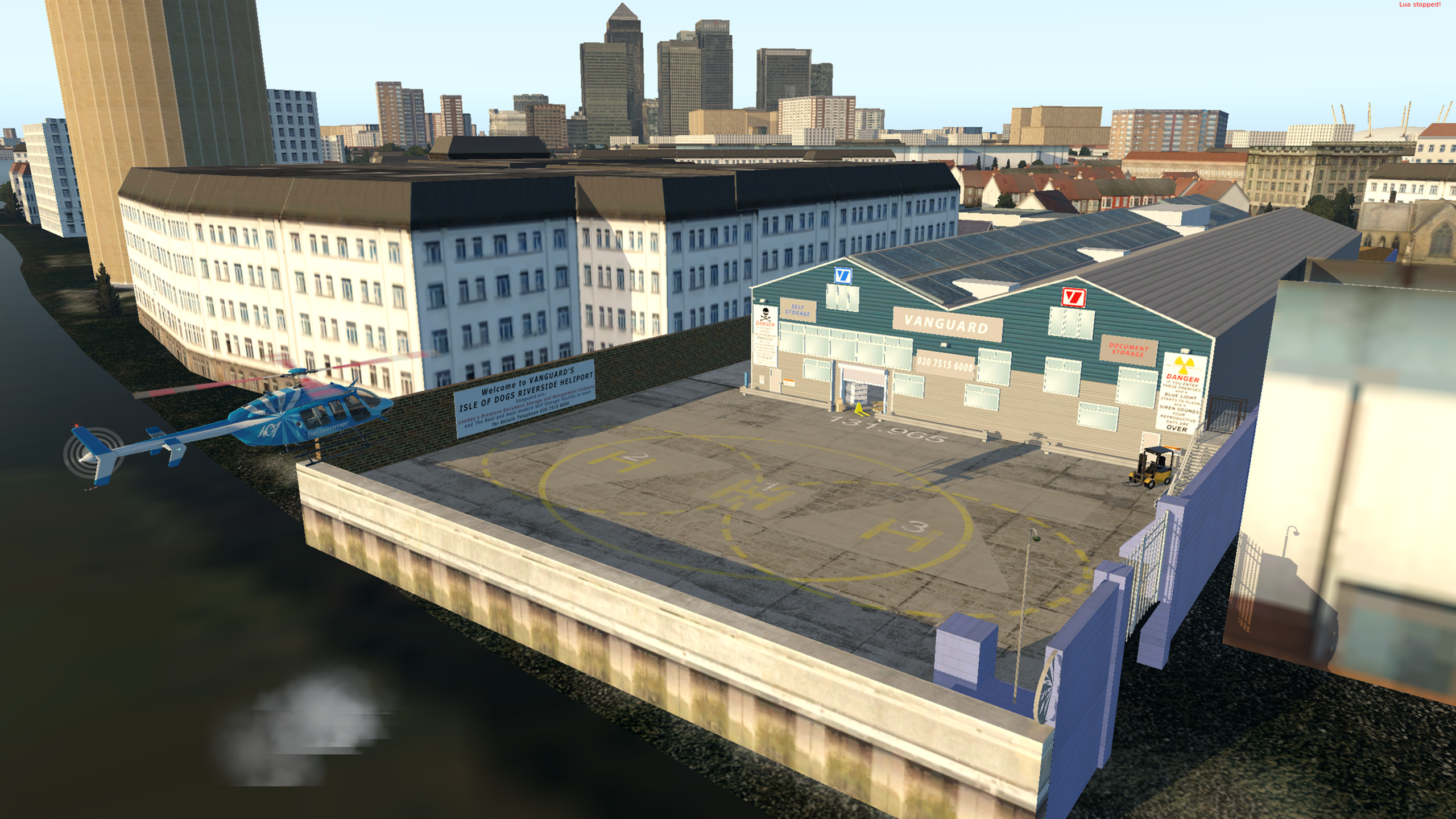 Falcon Heliport (Vanguard Helipad) (XP 11 Only) | The CS Project