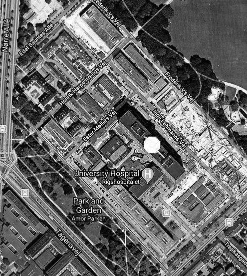 Copenhagen main hospital, Rigshospitalet