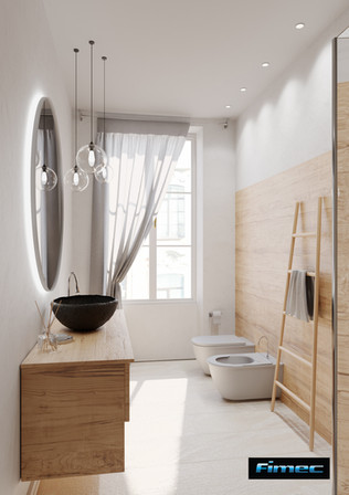 Immobile di prestigio - bagno