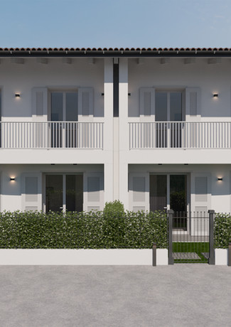 Prospetto frontale Residence i Melograni