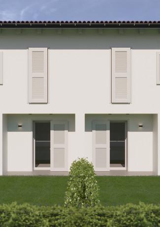 Prospetto retro Residence i Melograni