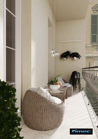 Immobile di prestigio - balcone