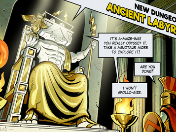 Ancient Labyrinth OUT NOW!