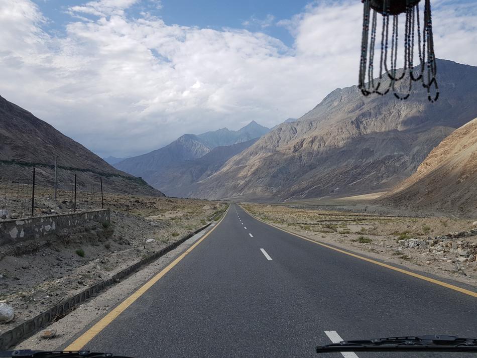 The Karakoram Highway and its wonders