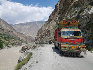 The 'Headache Highway' to Hunza. One of the World's Scariest Roads.