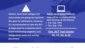 Seniors - Help Session for ACT Registration