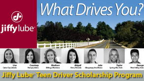 Jiffy Lube Scholarship for local students!