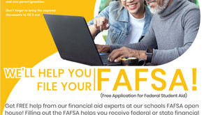 FAFSA Open House Tonight 4-7 pm (For Seniors Only)