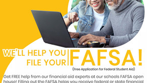 FAFSA Open  House October 14, 2020 Cottonwood High School Library