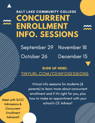 Fall 2021 CE Info. Sessions