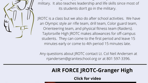 Course Selection Opportunity: Armed Forces
