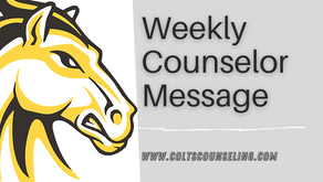 Weekly Counselor Message 9/18/20