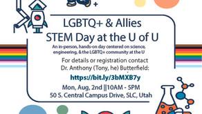 LGBTQ+ & Allies STEM Day Signup @ the University of Utah