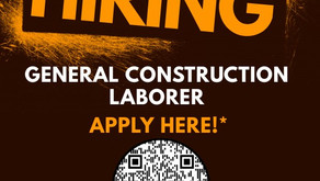 General Construction Job Opportunity