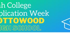 College Application Week             October 26 - October 30