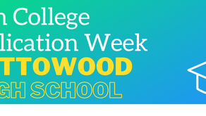 Seniors - College Application Week October 26th-October 30th 2020
