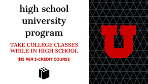 High School University Program (HSUP) @ University of Utah