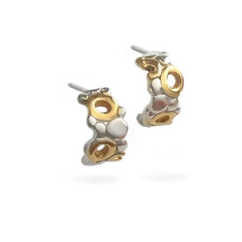 Fizz Half Hoop Earrings