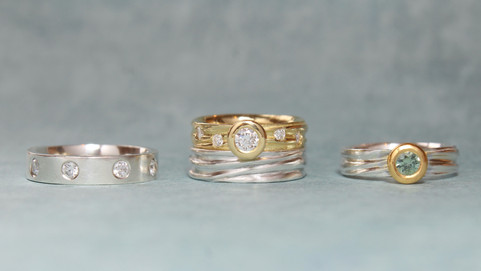 Engagement, Wedding and Eternity Rings