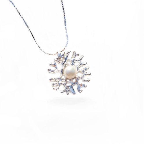 Matrix Coral Pearl Pendant