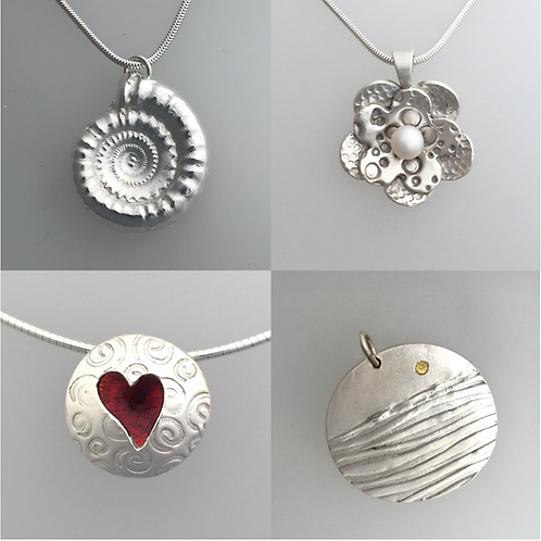 Silver Clay Workshop Weds 6th January 2021