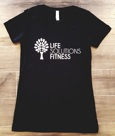Life Solutions Fitness t-shirt
