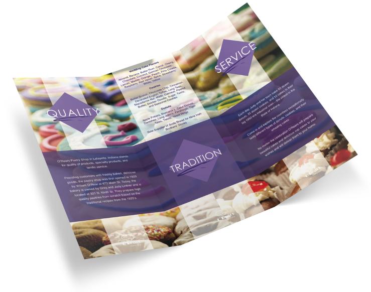 o'rears brochure design