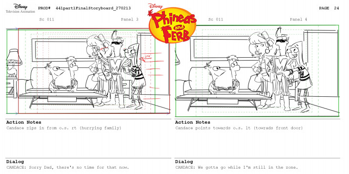 Wrote and storyboarded