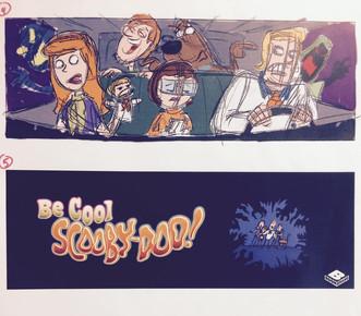 billboard roughs for Warner Bros.
