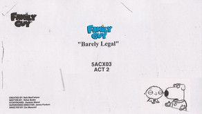 "Family Guy - ""Barely Legal"""
