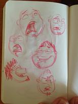 Me - sketch book doodles