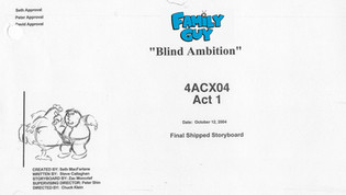 """Family Guy  """"Blind Ambition"""""""
