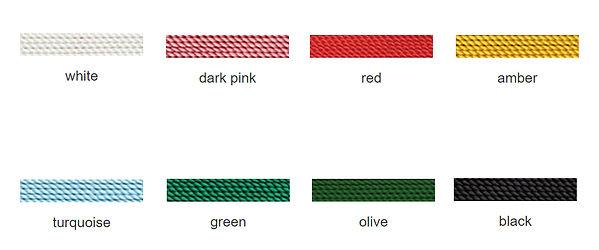 Necklace Colour Options