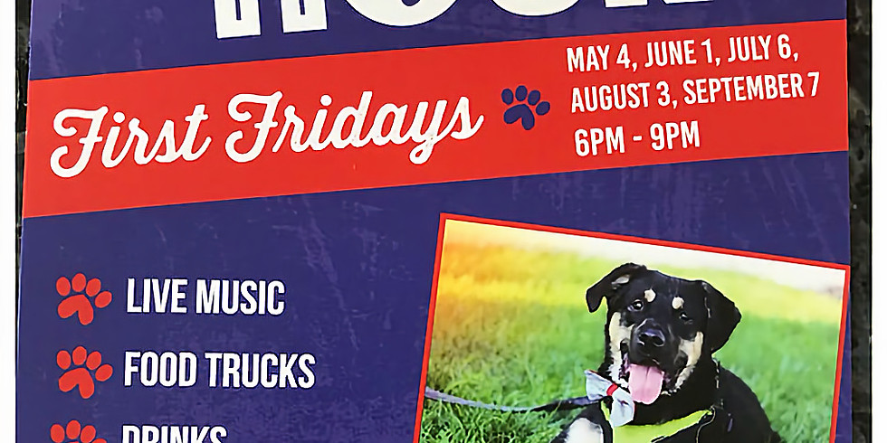 July First Fridays Yappy Hour!