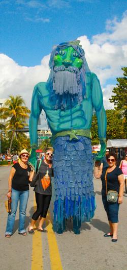 Giant Neptune