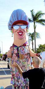 Giant Granny Puppet