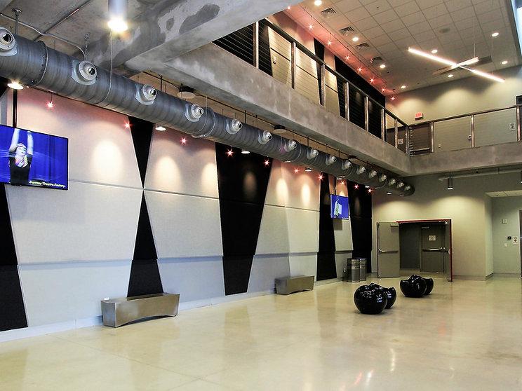 Sandrel Rivers Theater's Lobby