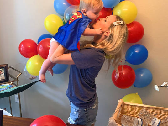 Our Superhero Mighty Miles is ONE!