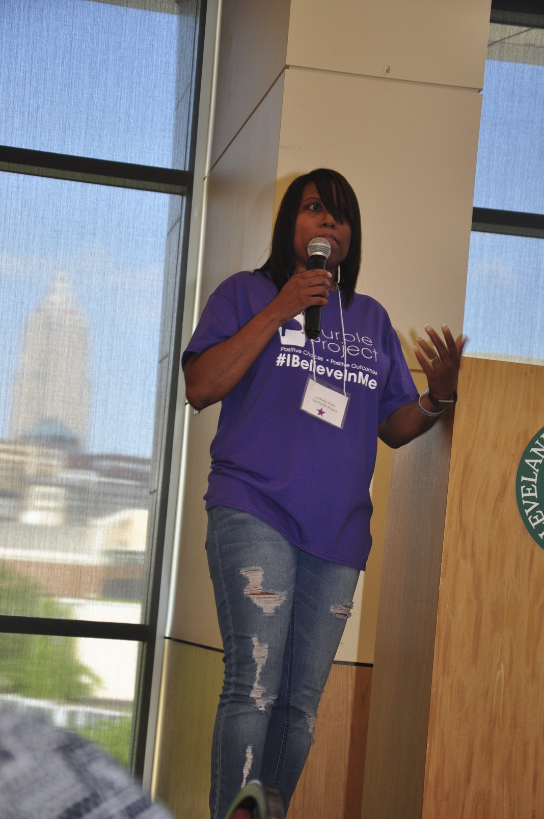 LaTasha C. Watts The Purple Project  I Believe In Me
