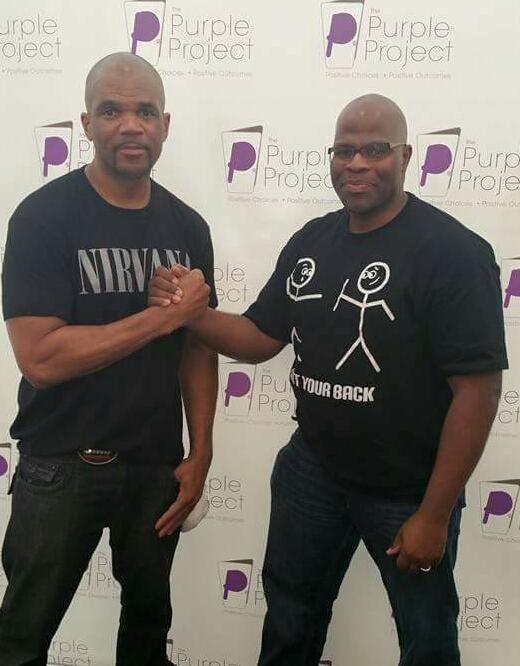 Darryl DMC McDaniels & Cedric Brown
