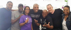 The Team with DMC & Antwone Fisher