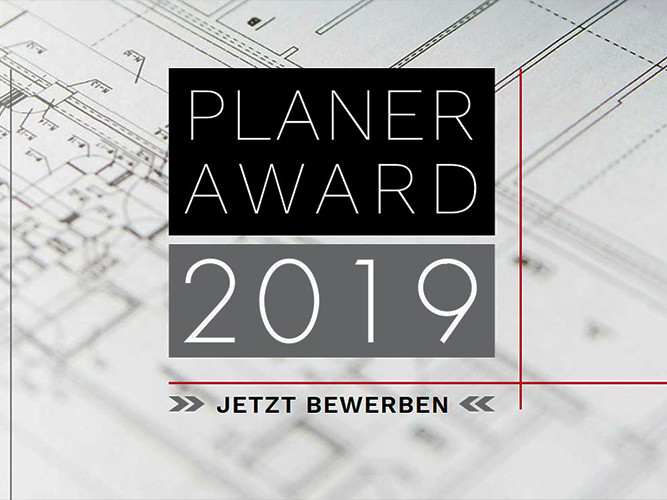 Neue Aufgabe für das Erfolgslabor: Ausrichtung des Planer-Awards 2019