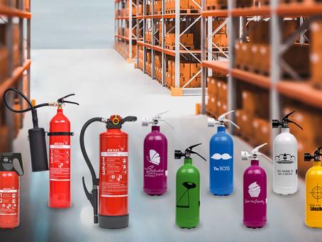 Für jeden Brand den richtigen Feuerlöscher