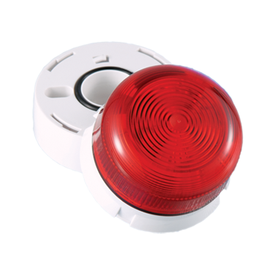 Optischer Signalgeber - Flashguard LED Blitz rot