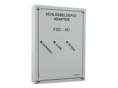 Adapter Feuerwehr-Schlüsseldepot FSD-AD