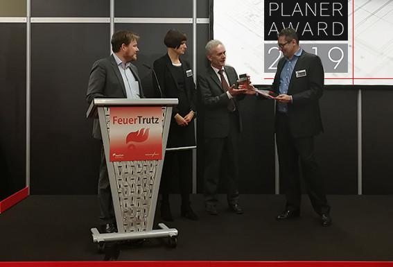 Erfolgreiche Verleihung des Planer-Awards auf der FeuerTrutz 2019 in Nürnberg
