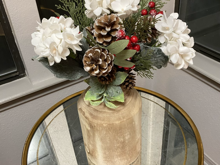 Woodland Christmas Bouquet
